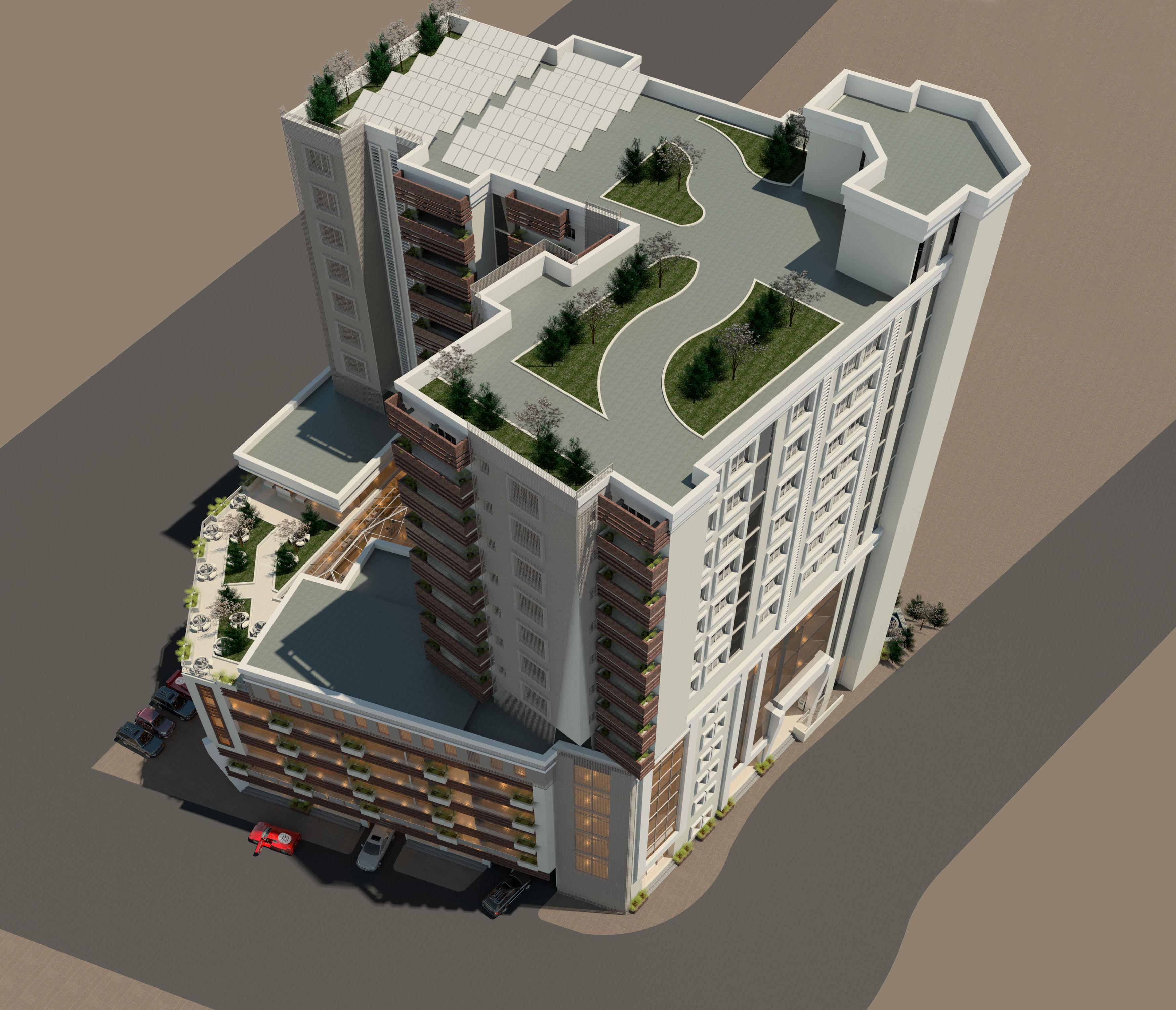 Apartment Shopper: Mixed Apartment/Shopping Mall
