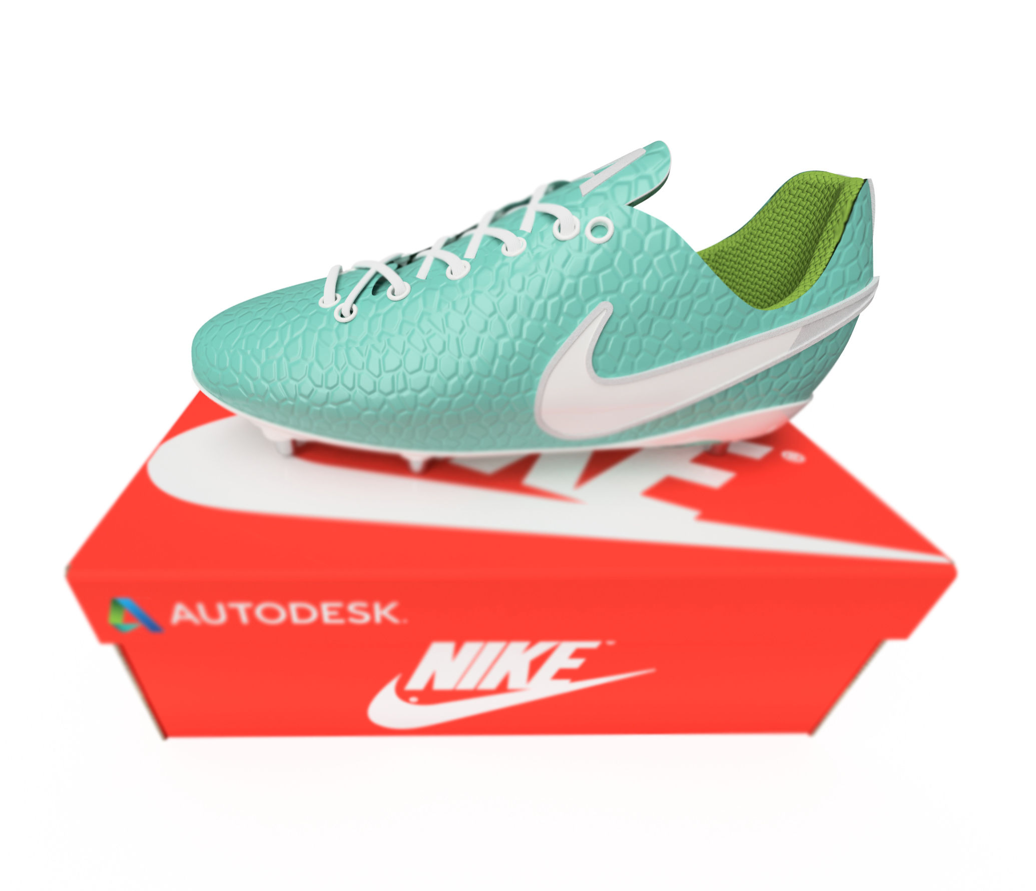 Nike Football Boot With Box - (Autodesk Edition)