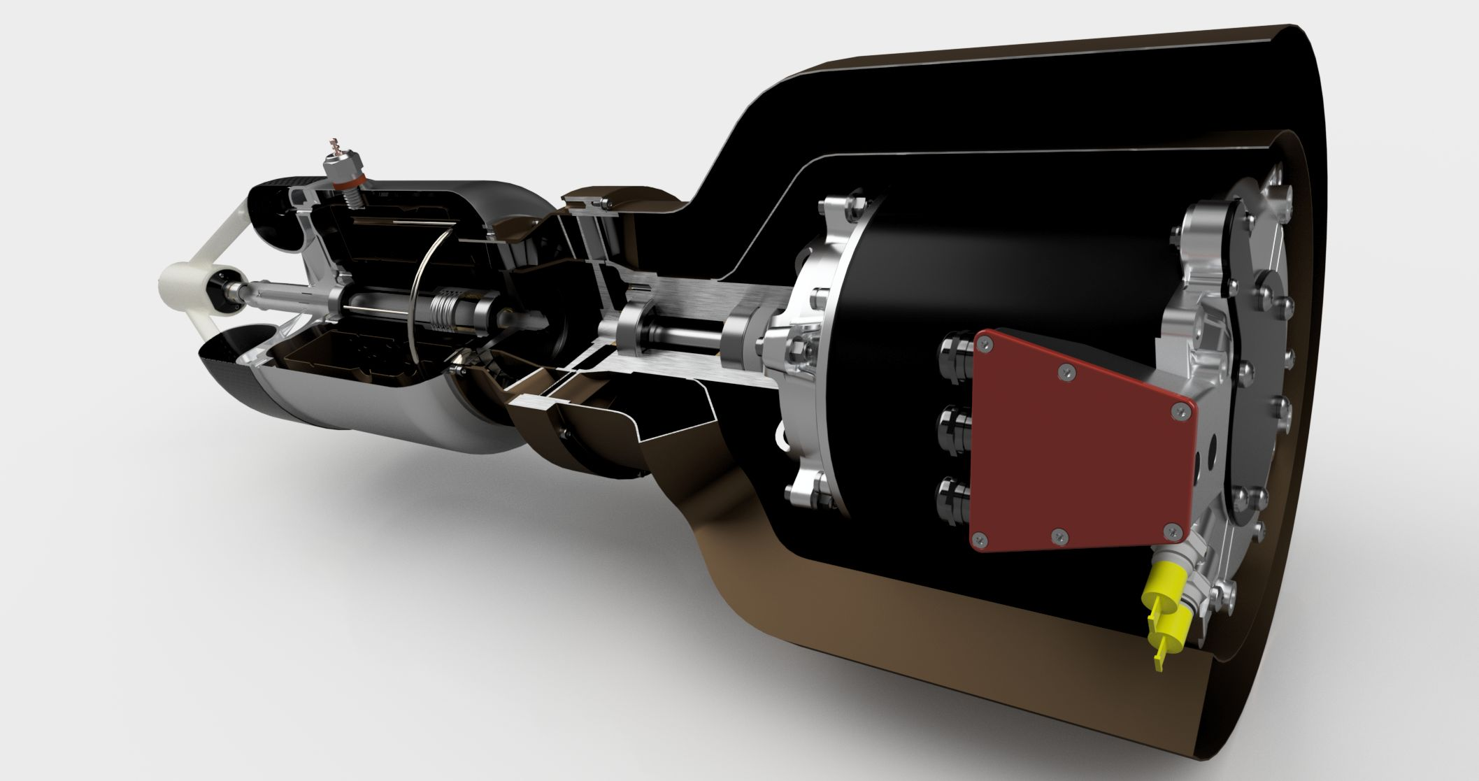 Gas Turbine Generator Autodesk line Gallery