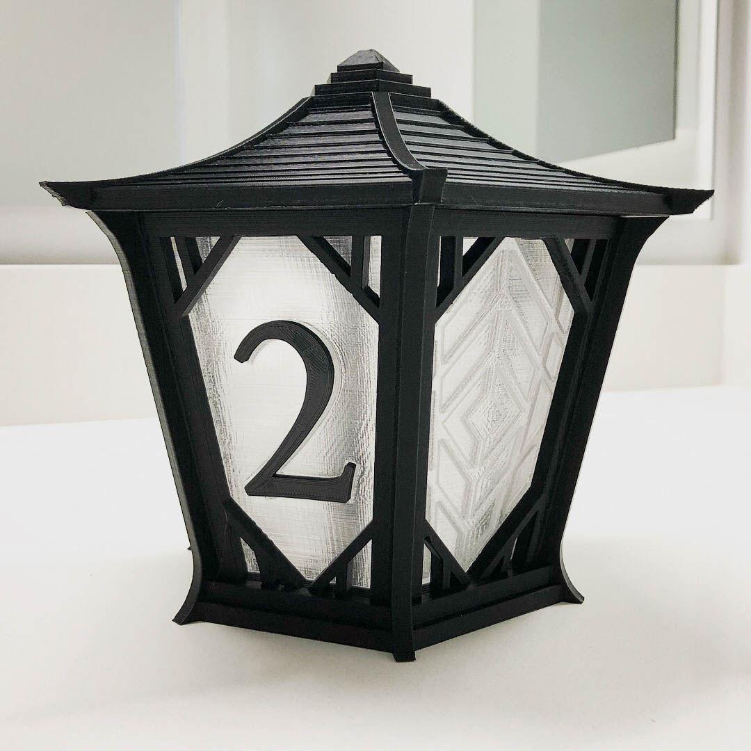 Japanese Lantern Centerpieces for Wedding|Autodesk Online Gallery