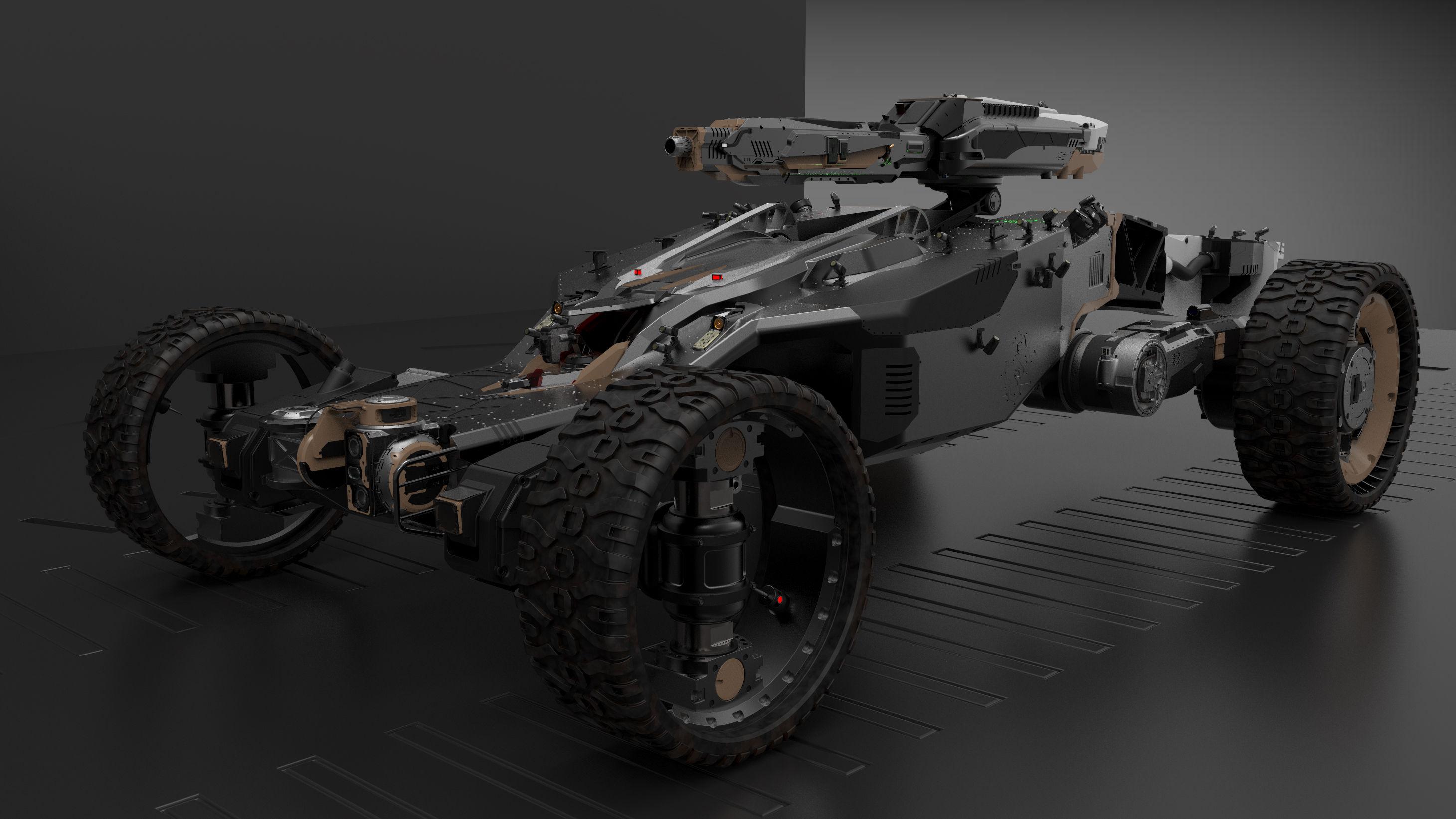 Keyshot-buggi-saigakjk-3500-3500