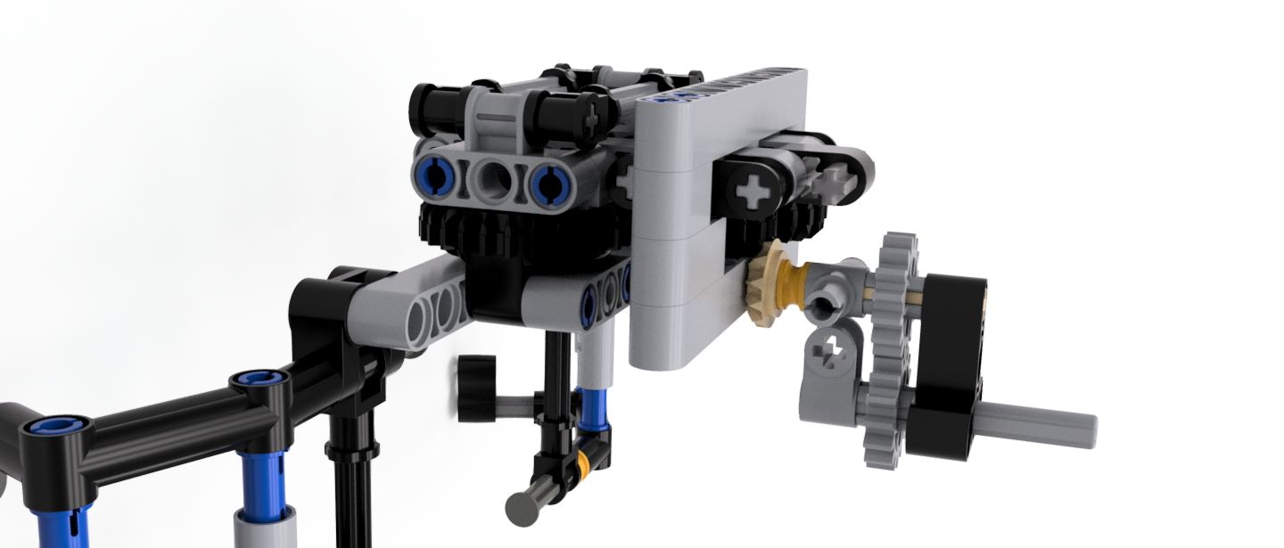 MECHANICAL CLAW - LEGO ROBOTICS |Autodesk Online Gallery