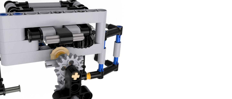 Lego-ev3-claw-v5-clw-3500-3500