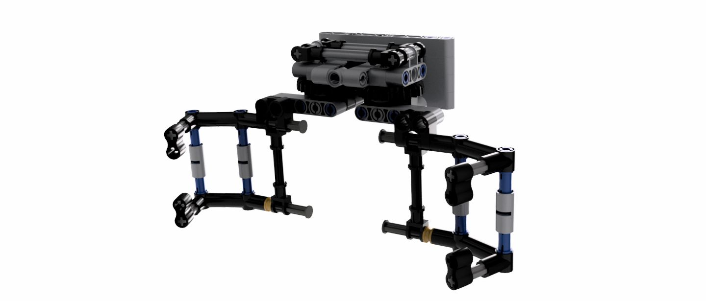 Mechanical Claw Lego Robotics Autodesk Online Gallery