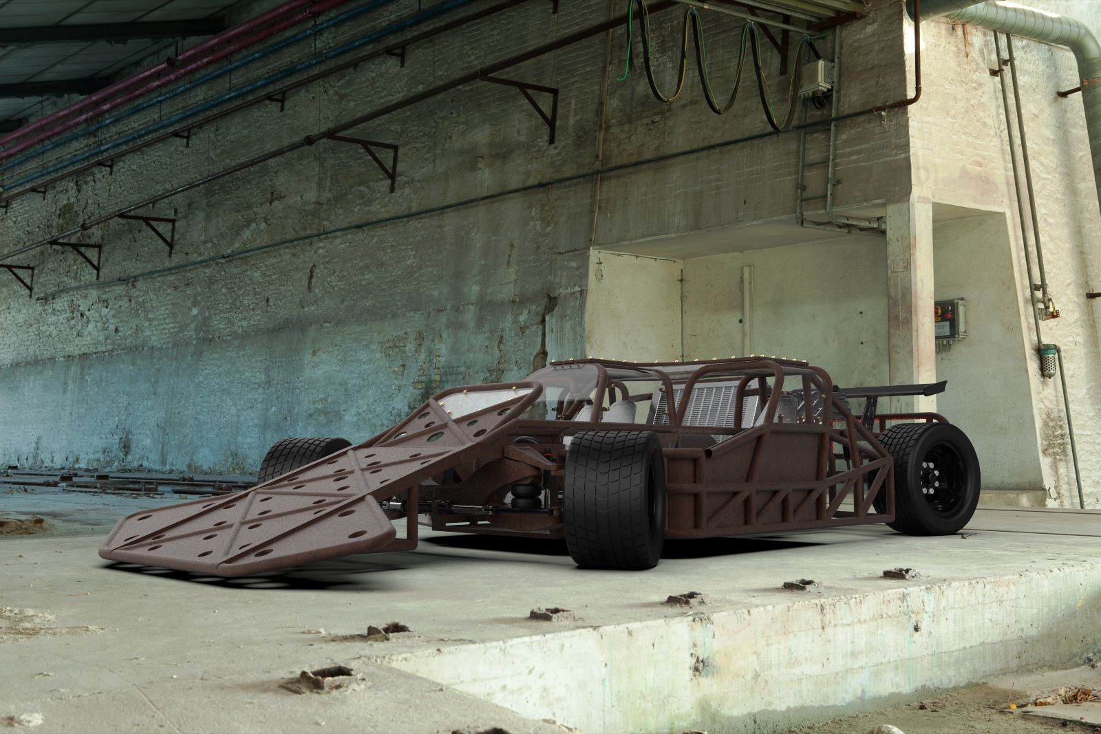 Ramp Car From Fast Furious 6 Autodesk Online Gallery