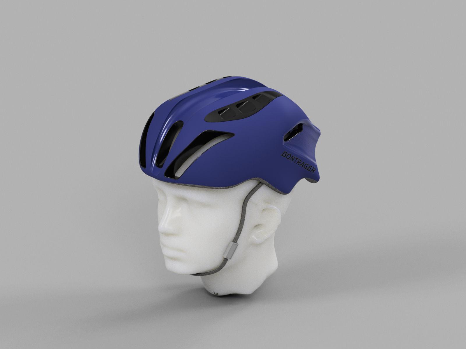 3D scanning head and sculpting bike helmet|Autodesk Online Gallery