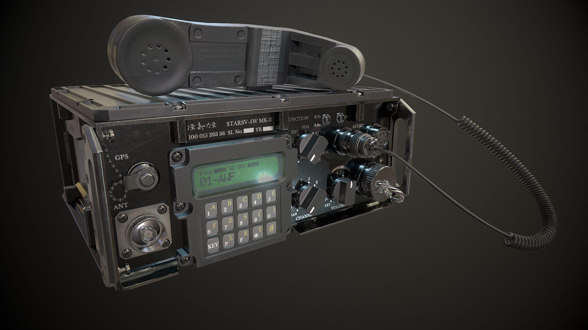 Military radio|Autodesk Online Gallery