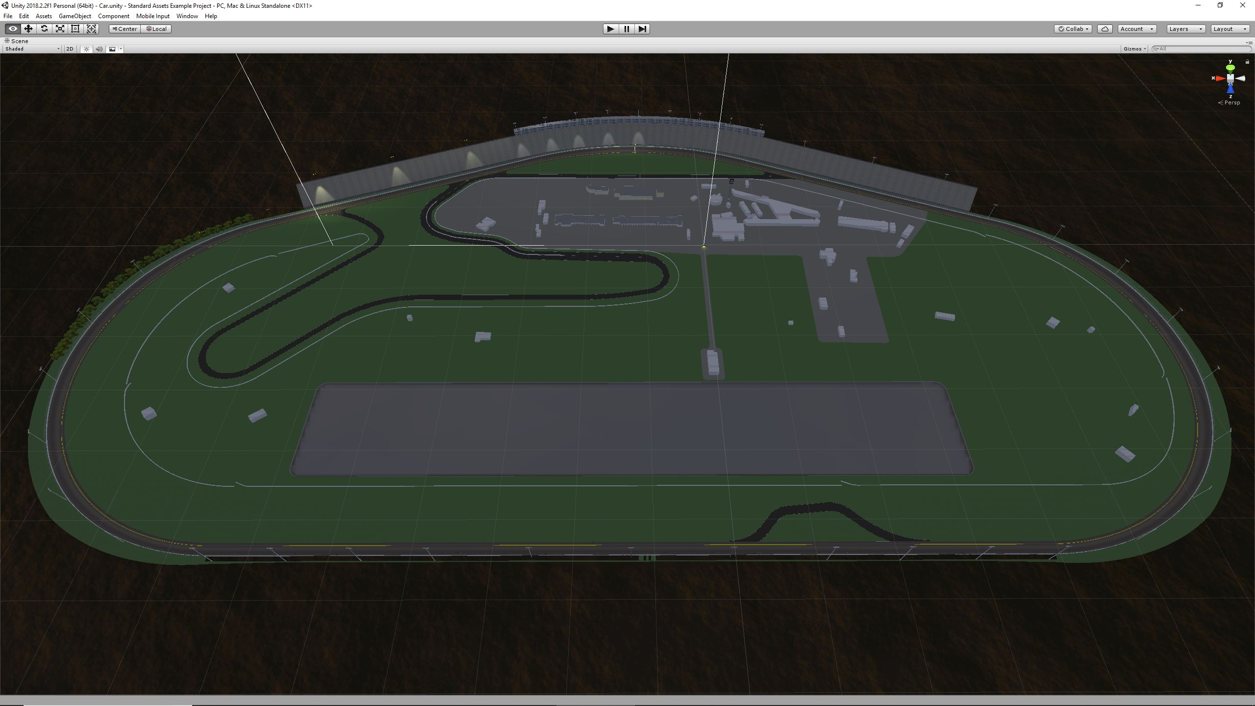 Tri-Oval Race Track|Autodesk Online Gallery