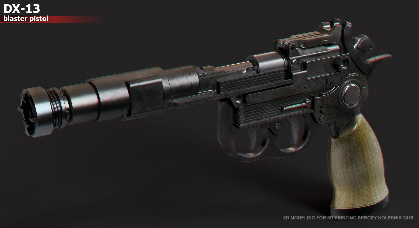 DX13 blaster pistol Autodesk Online Gallery