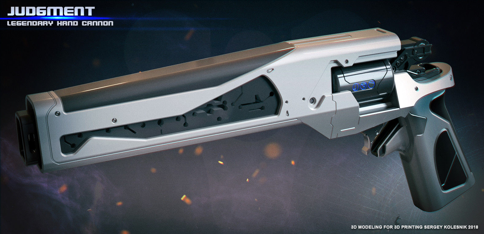 Judgment Legendary Hand Cannon|Autodesk Online Gallery