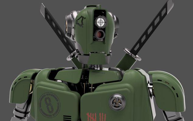 Urban Assault Robot|Autodesk Online Gallery