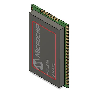 LoRaWAN module packages for Eagle|Autodesk Online Gallery
