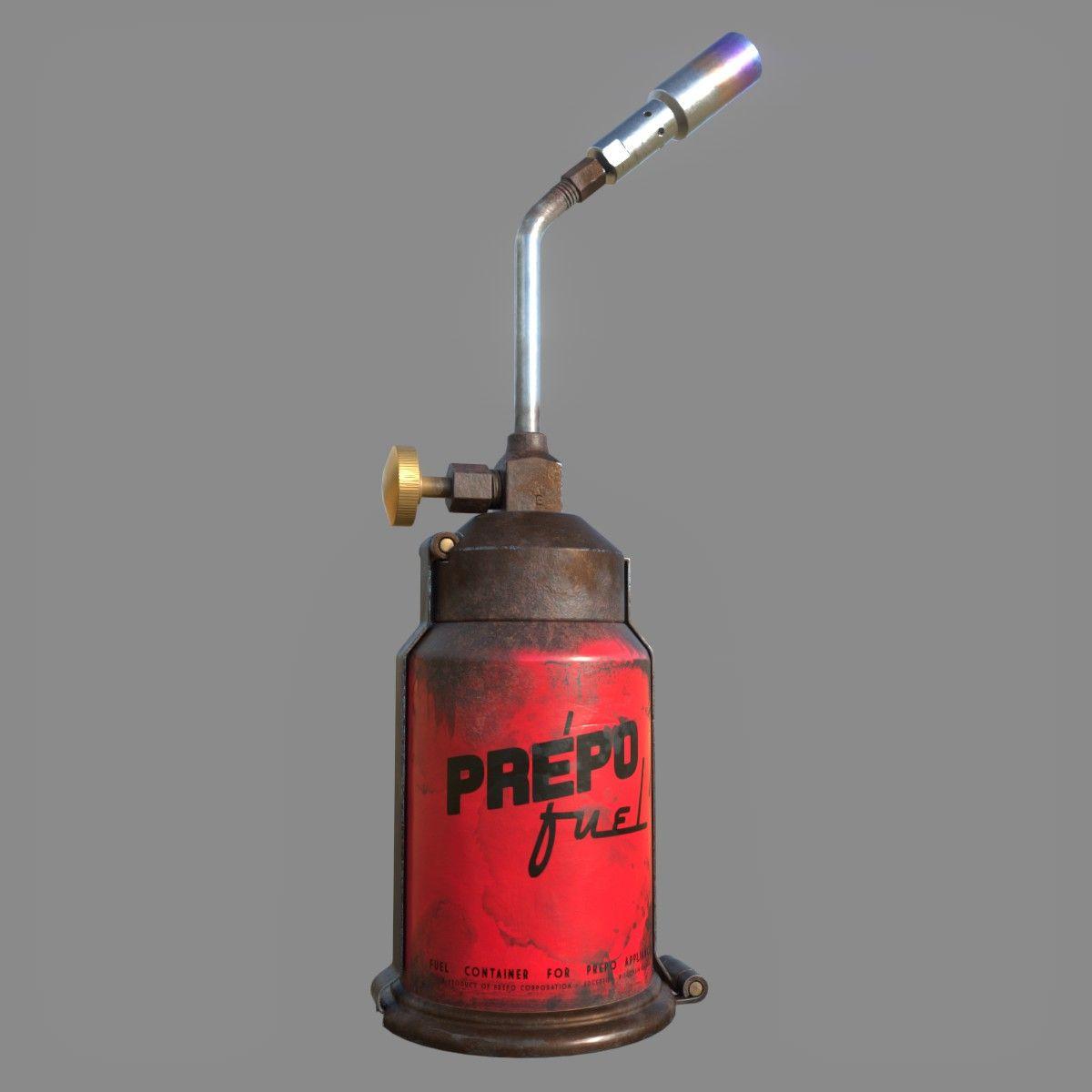 Prepo Fuel Blow Torch|Autodesk Online Gallery