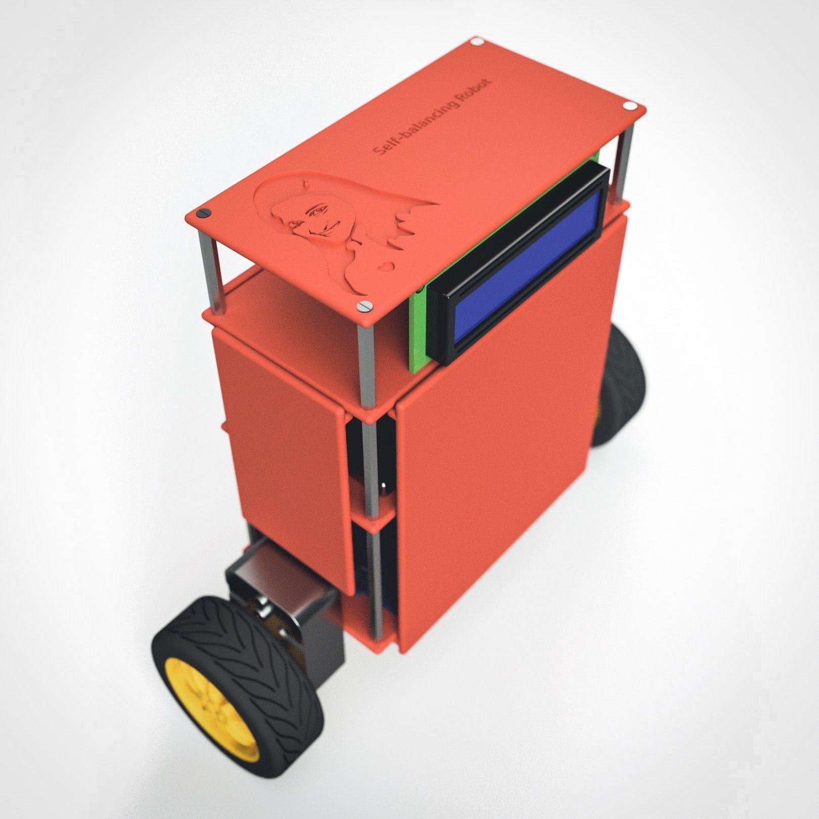Self Balancing Robot|Autodesk Online Gallery