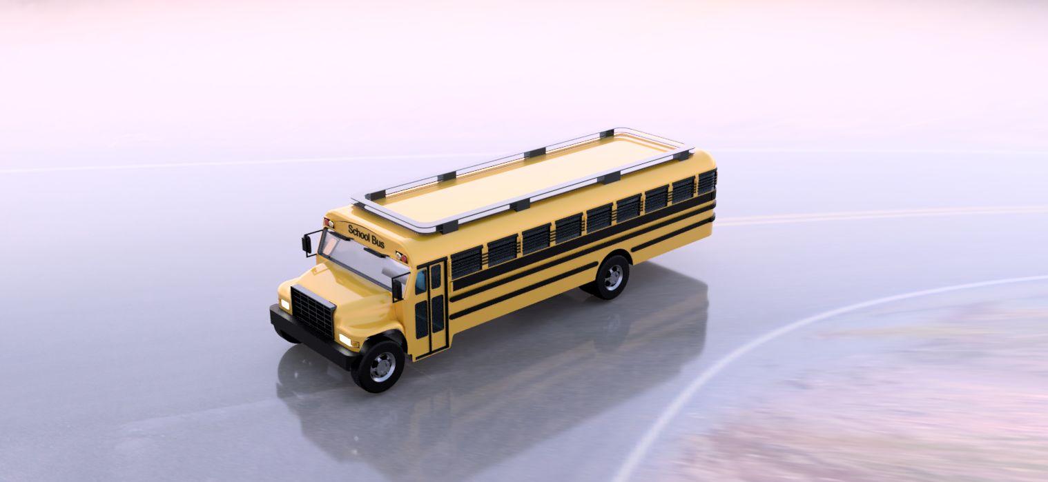 Toy School busUntitled project|Autodesk Online Gallery
