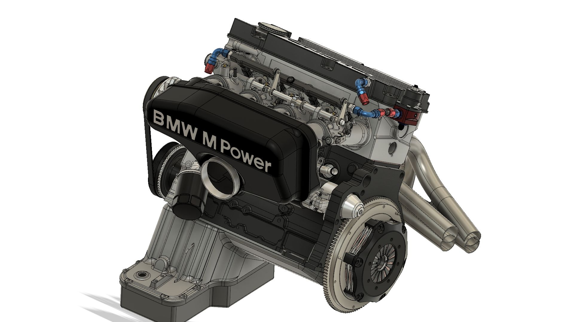 BMW M10 Engine |Autodesk Online Gallery