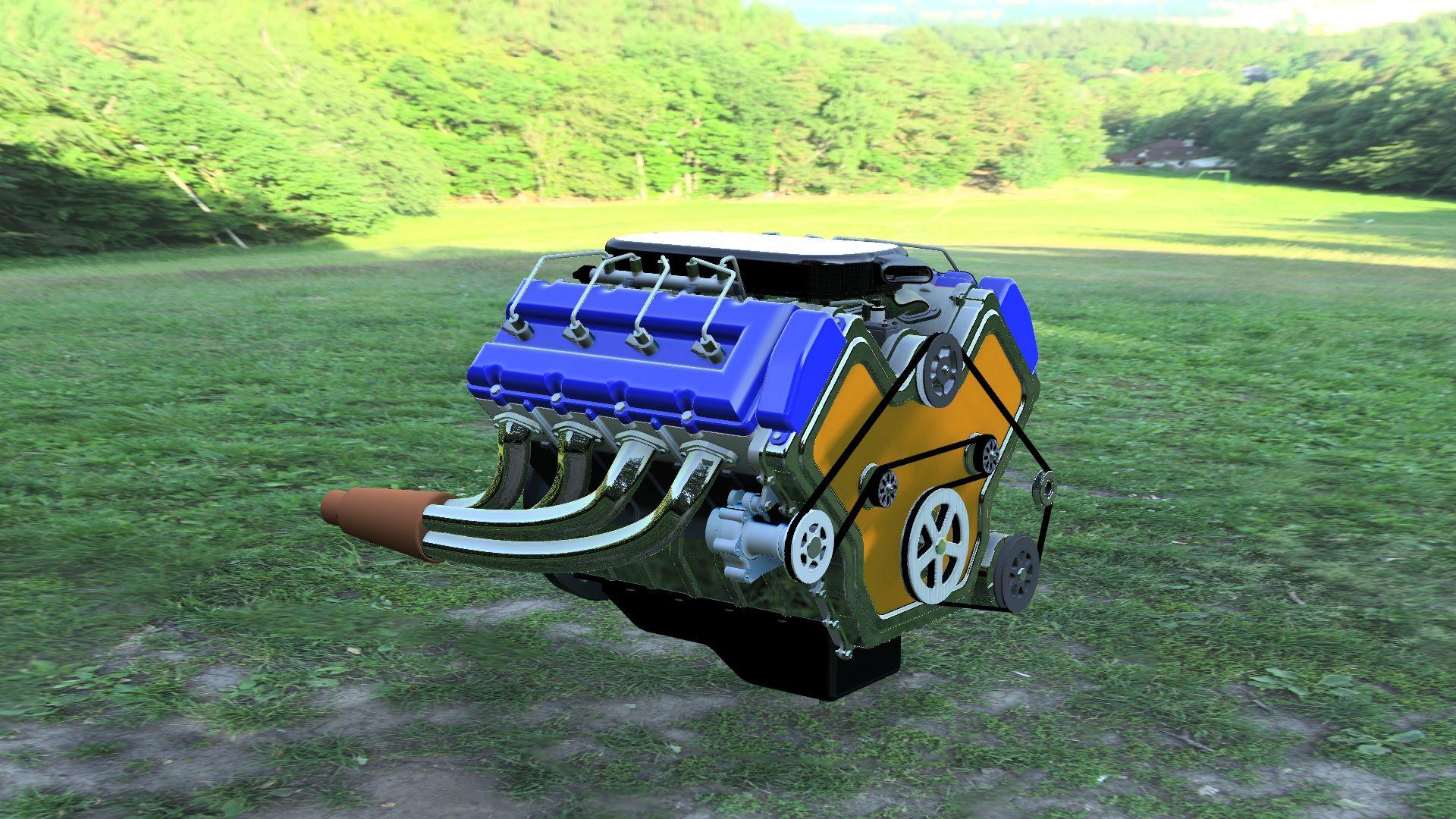 V8-engine-v101-3500-3500