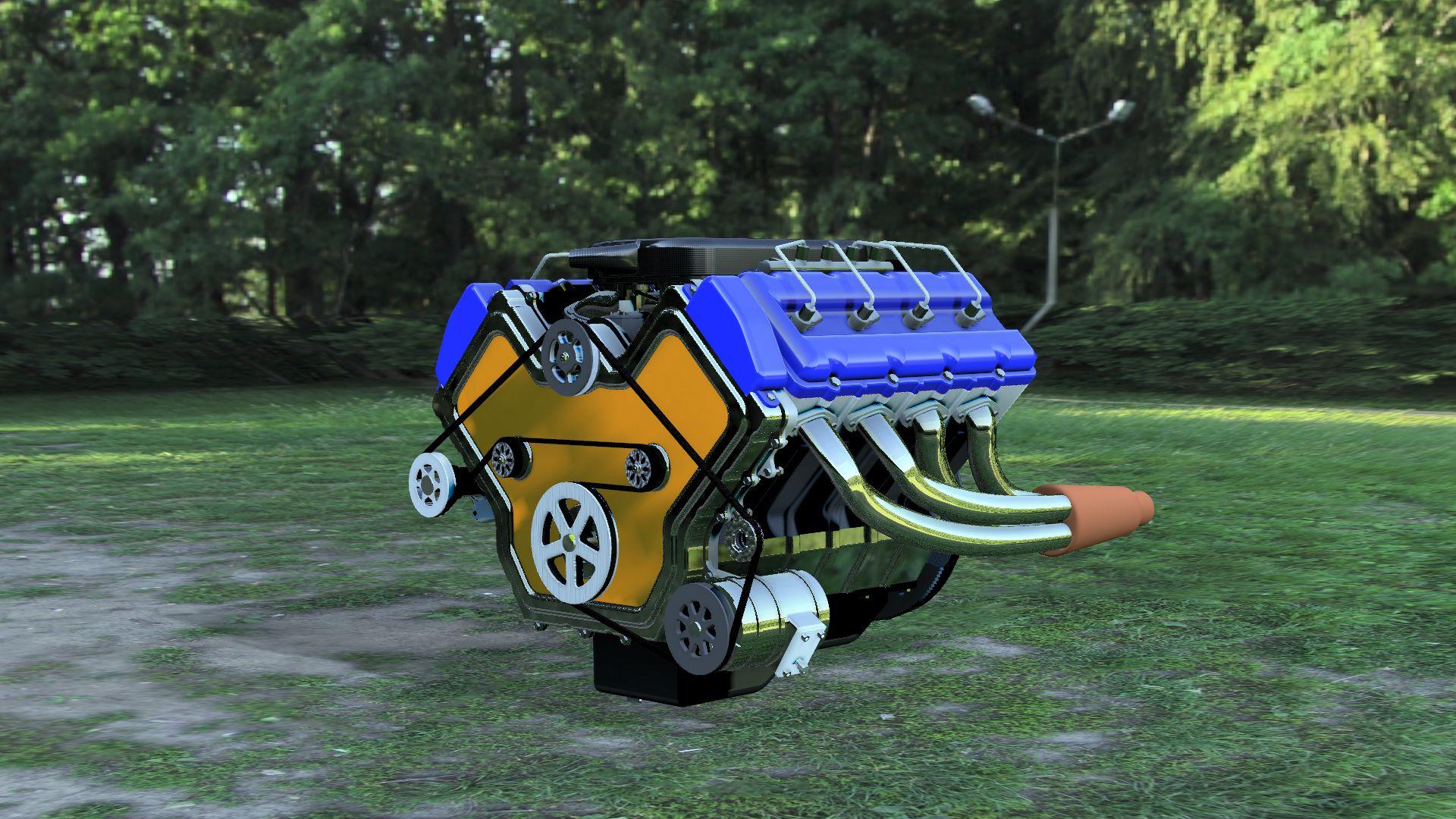 V8-engine-v10-3500-3500