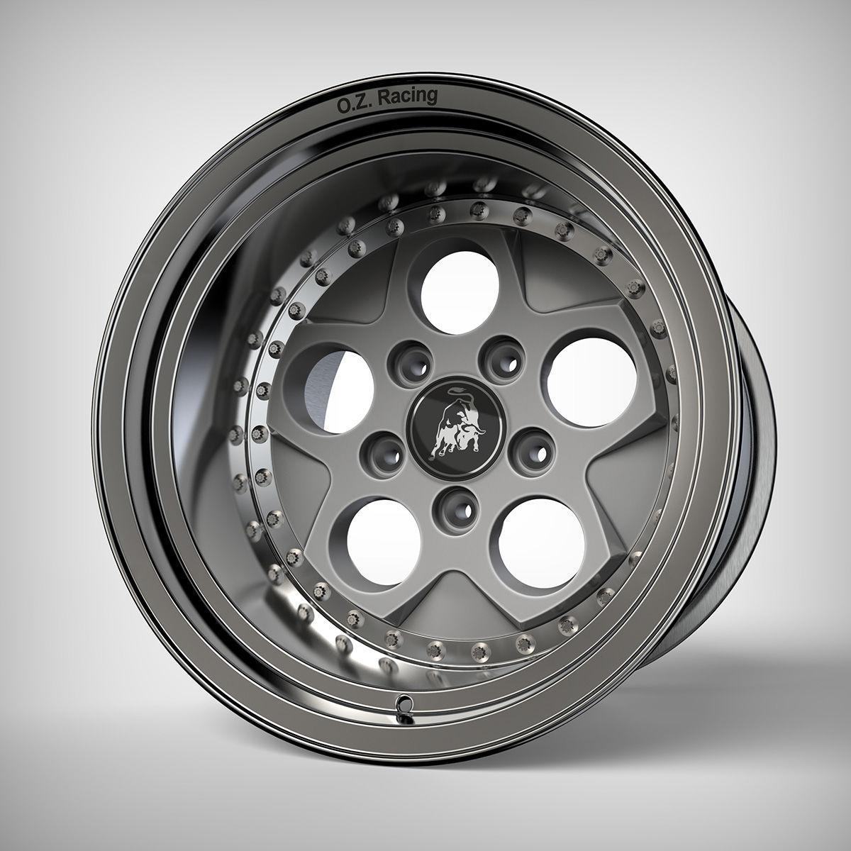 Lamborghini Countach 25th Anniversary Wheel Autodesk Online Gallery