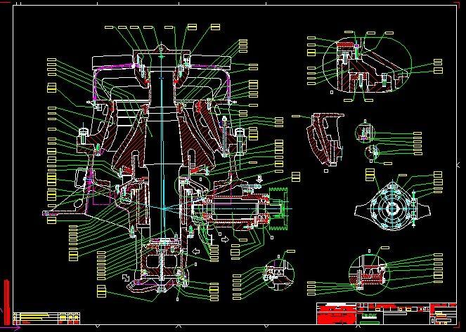 Sandvik HIDROCONE CRUSHERS H3800 complete drawing|Autodesk Online