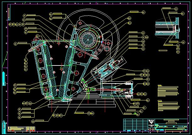 Sandvik jaw crusher 806 complete drawing|Autodesk Online Gallery