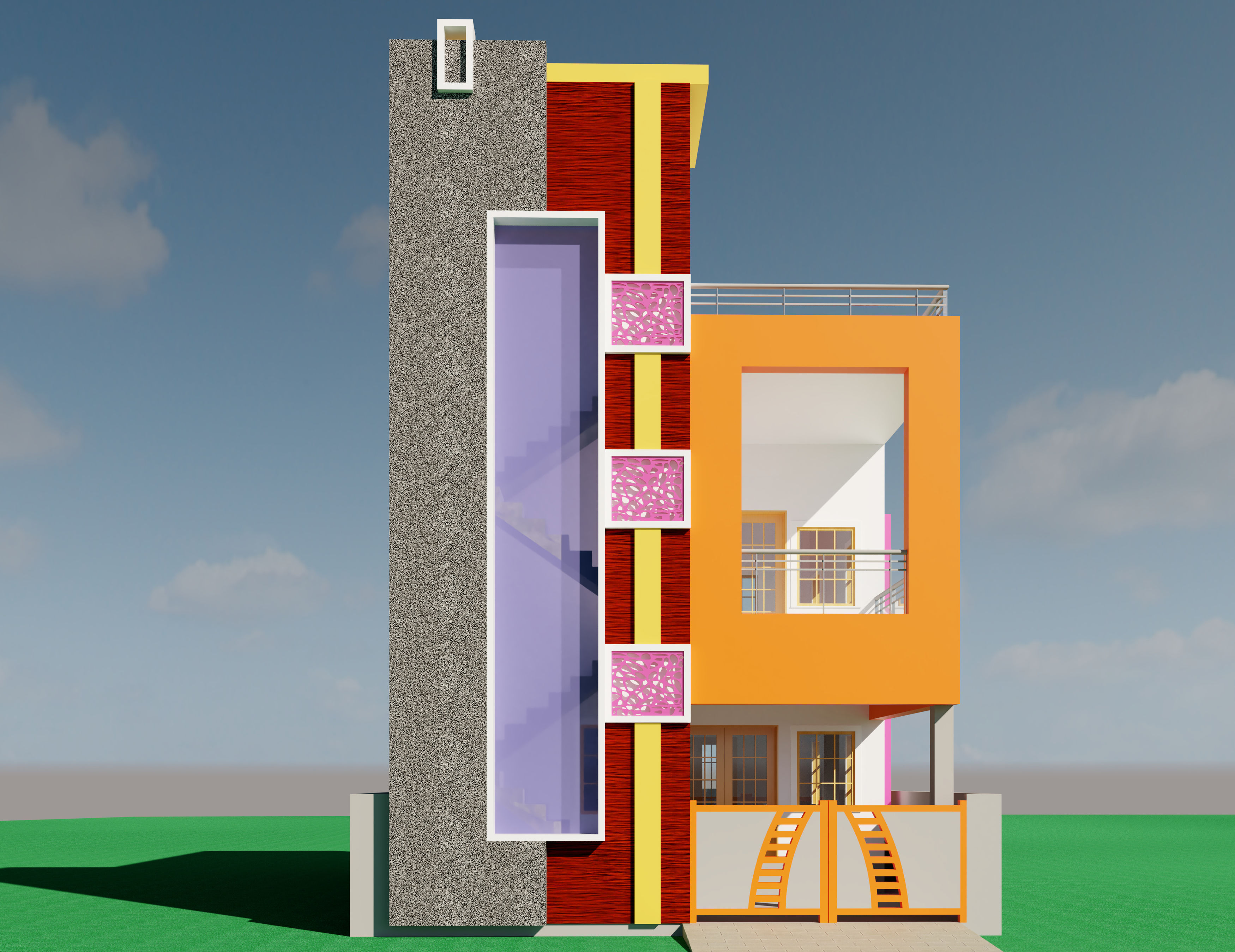 Residential Building|Autodesk Online Gallery