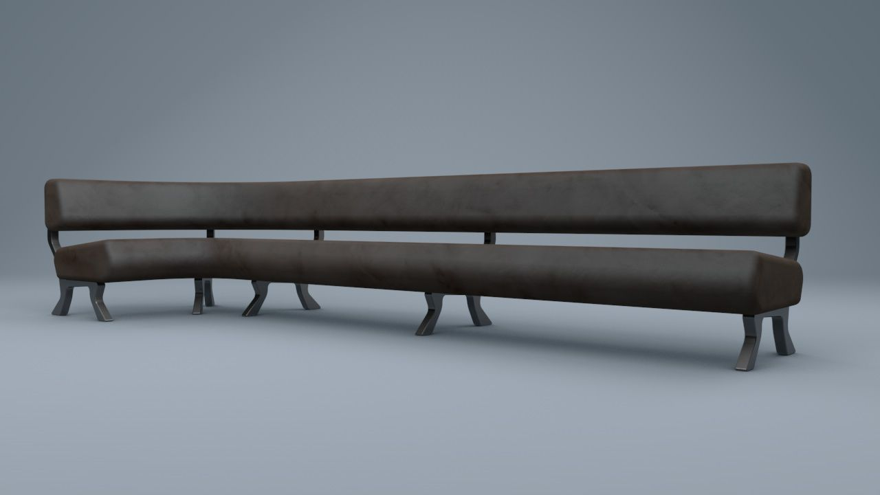 Admirable Bespoke Leather Bench Autodesk Online Gallery Caraccident5 Cool Chair Designs And Ideas Caraccident5Info