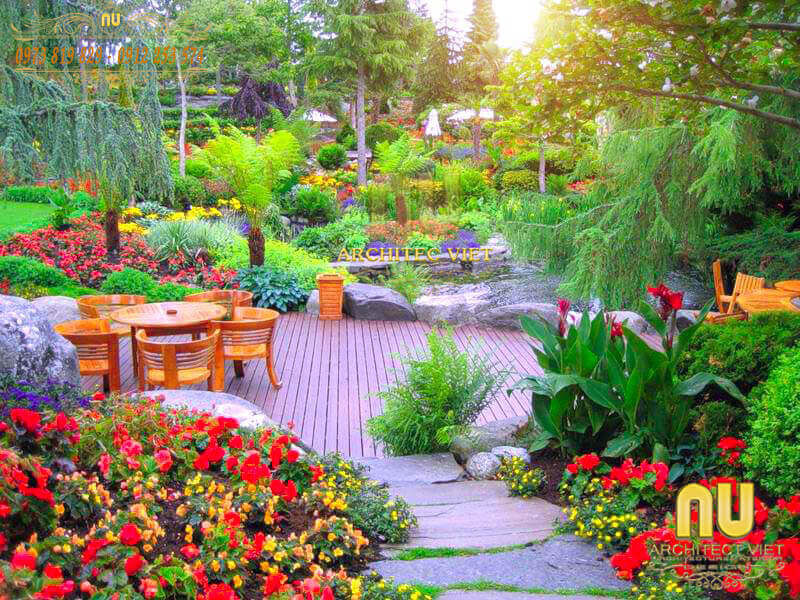 Landscape Design Of Garden To Enhance The Value Of Living Space