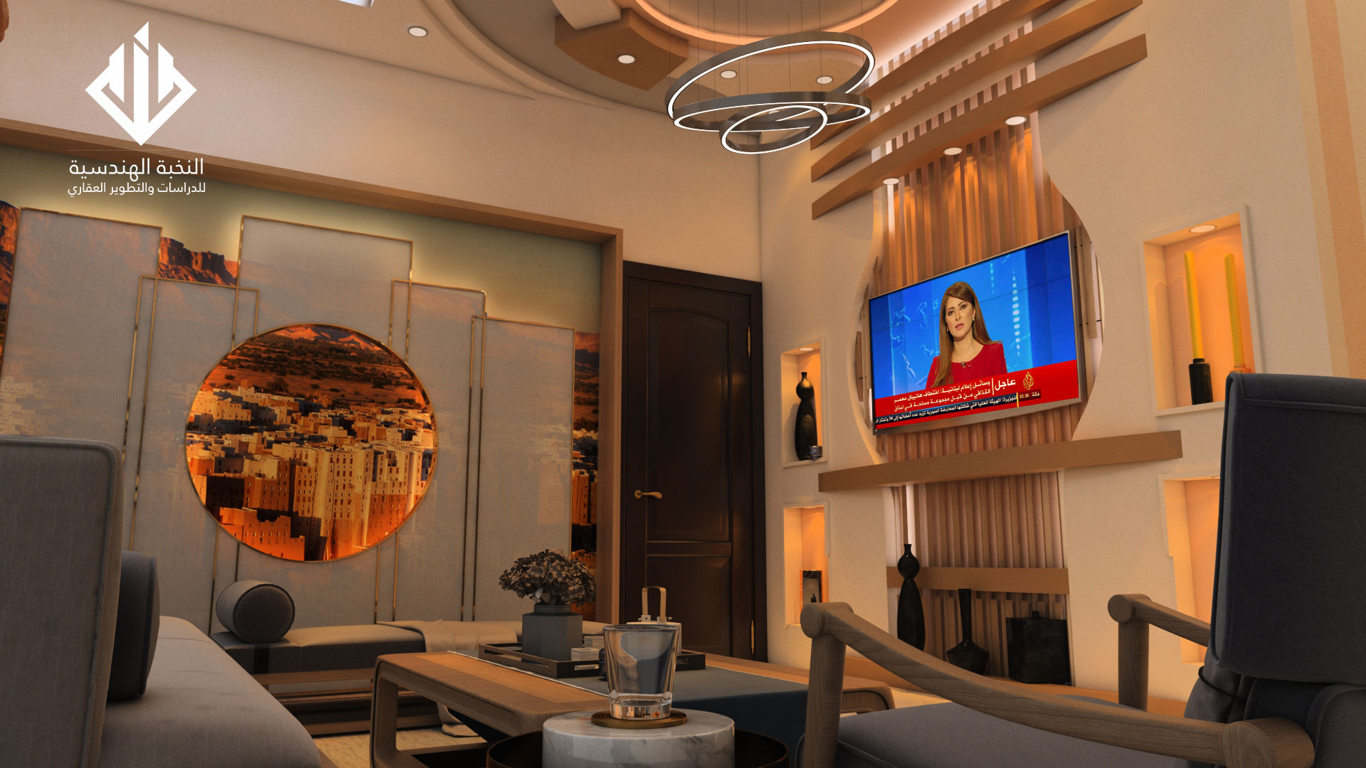 Living Room Interior Design Middle East Style Autodesk Online Gallery