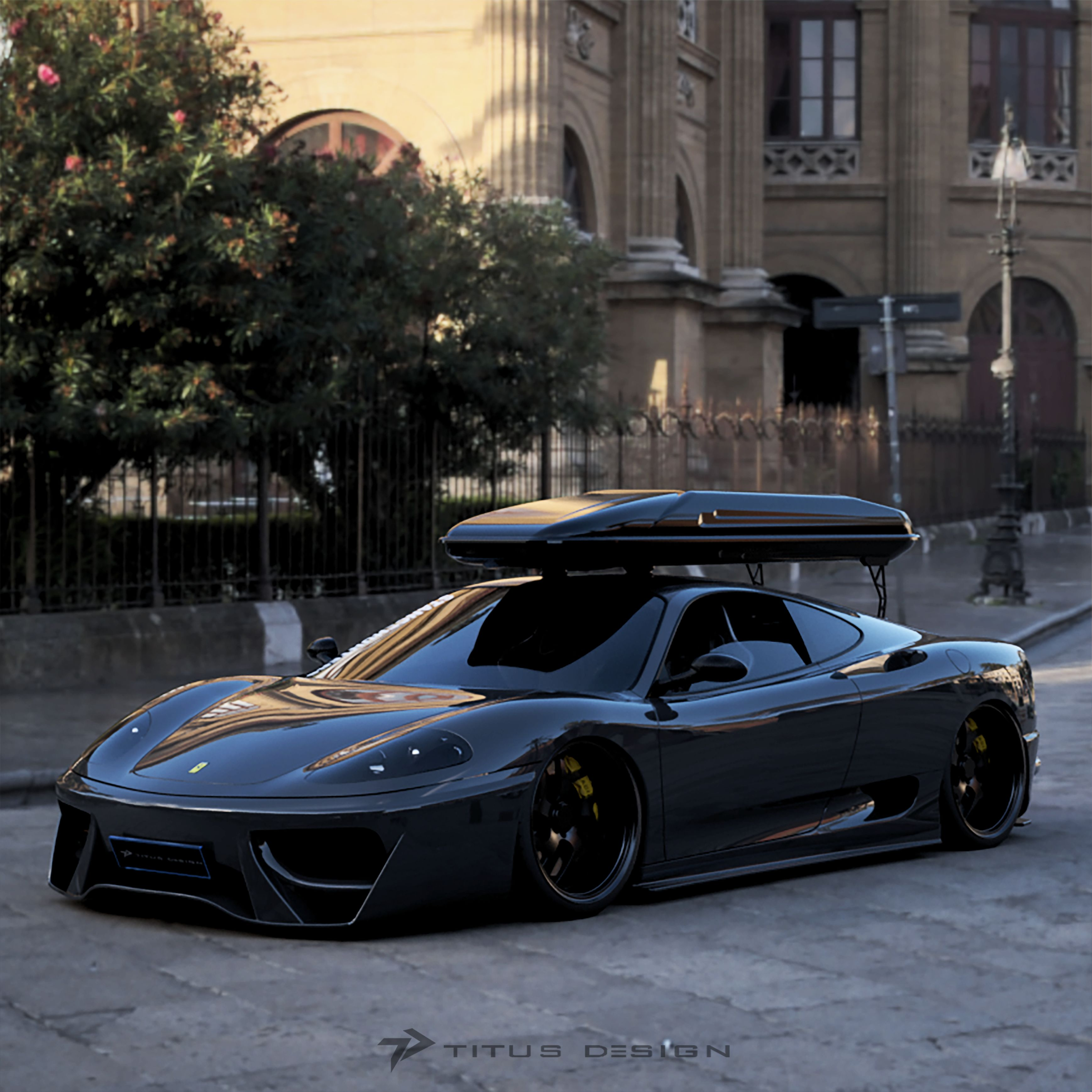 Ferrari 360 Modena Modified Autodesk Online Gallery