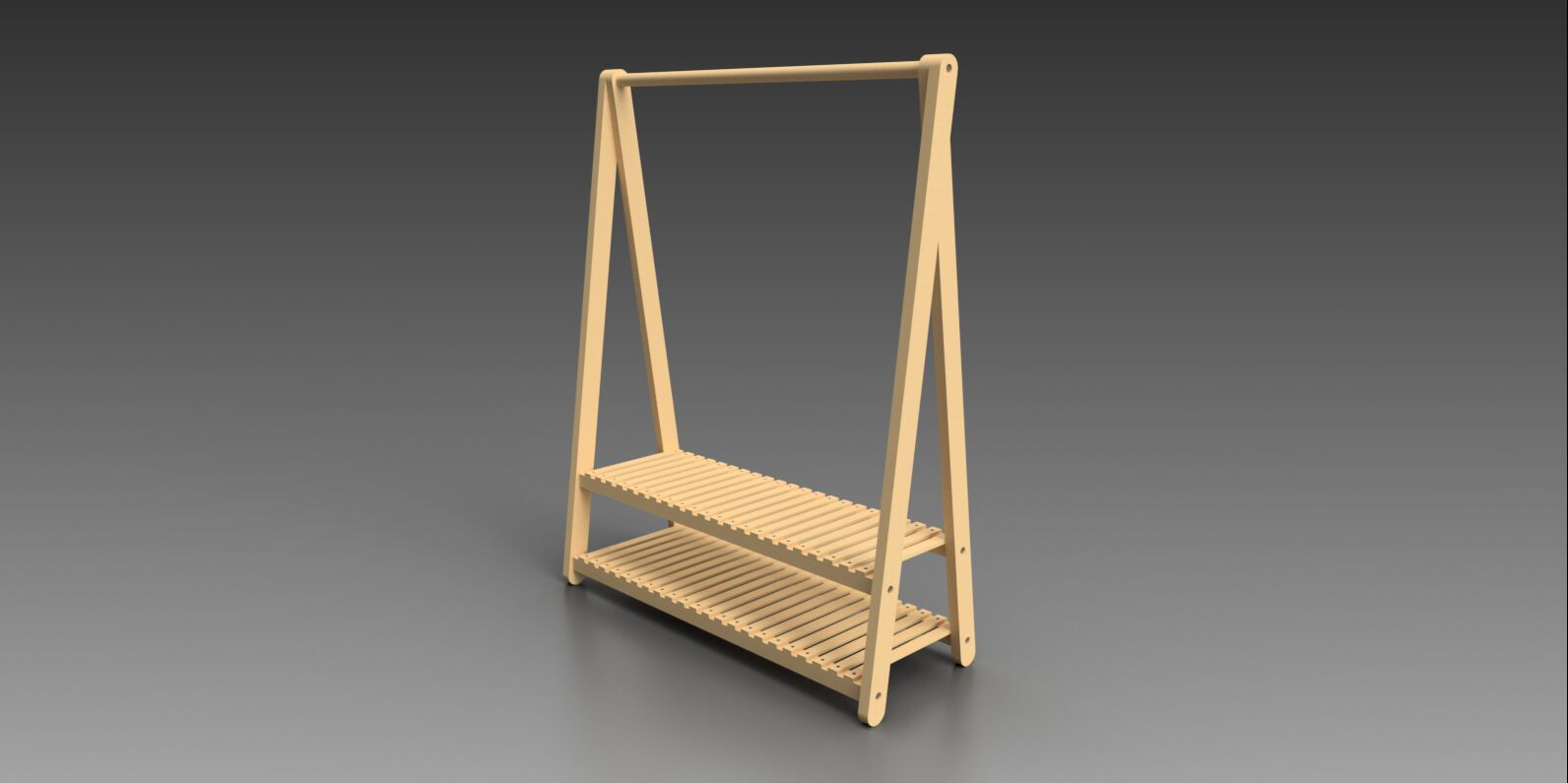 A Clothes Horse Autodesk Online Gallery