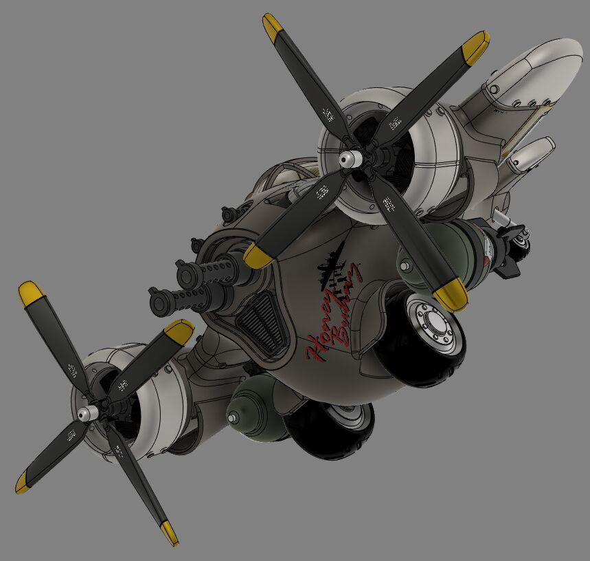 Steampunk-airplane-012-3500-3500