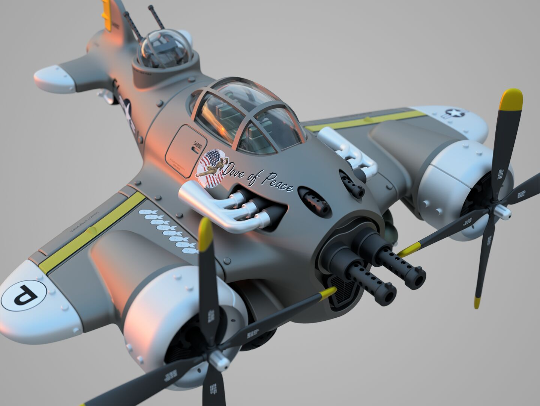 Steampunk-airplane-003-3500-3500