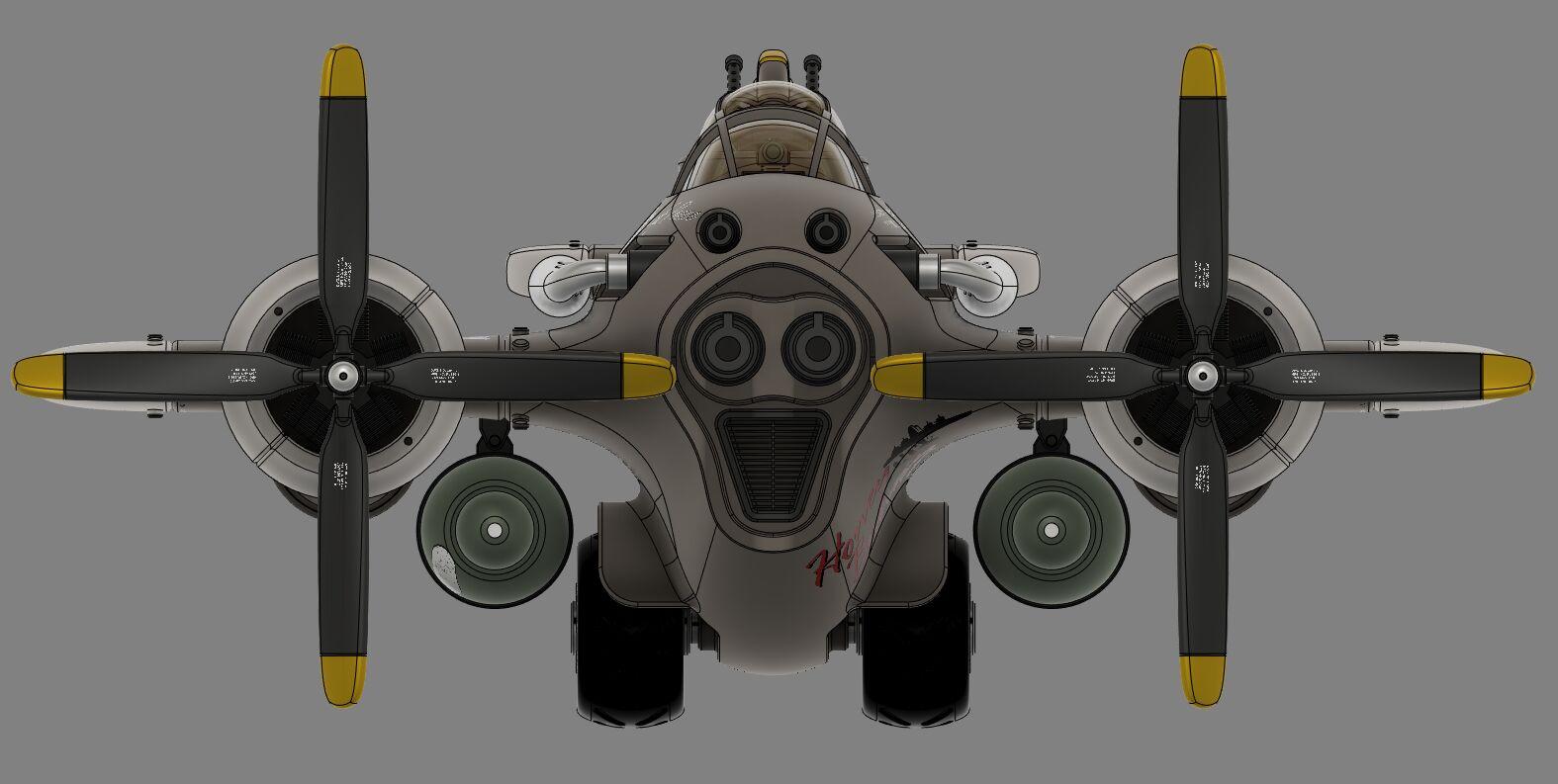 Steampunk-airplane-008-3500-3500