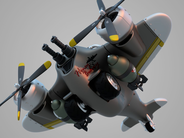 Steampunk-airplane-005-3500-3500